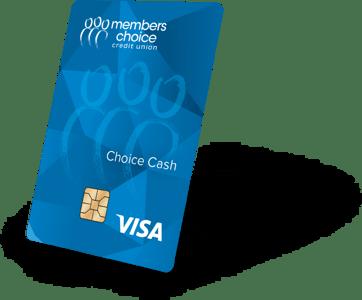 Choice Cash Visa Credit Card