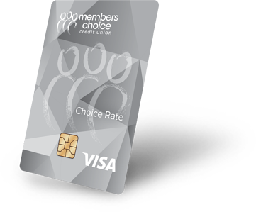 Choice Rate Visa Credit Card