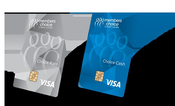 Choice Rate Visa and Choice Cash Visa